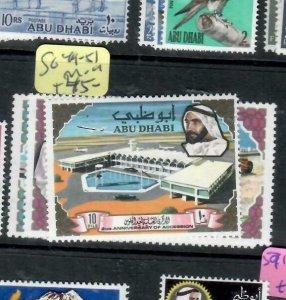 ABU DHABI (PP0403B)  SG 49-51     MOG