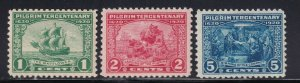 548 - 550 VF-XF OG mint lightly hinged with nice color cv $ 40 ! see pic !