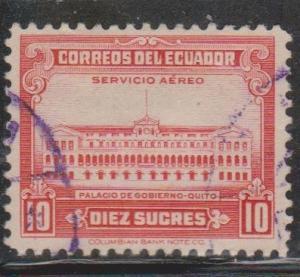 ECUADOR Scott # C130 Used - Airmail