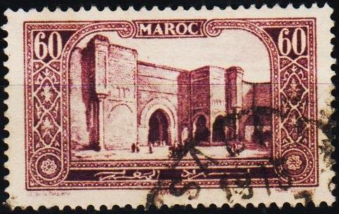 Morocco(French). 1917 60c S.G.139 Fine Used