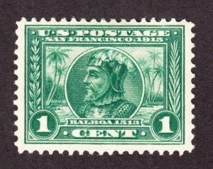 US 397 1c Panama-Pacific Mint VF OG LH SCV $70
