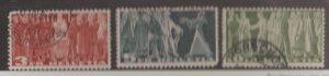 Switzerland Scott #284-285-286 Stamps - Used Set