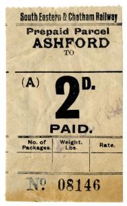 (I.B) South Eastern & Chatham Railway : Parcel 2d (Ashford)