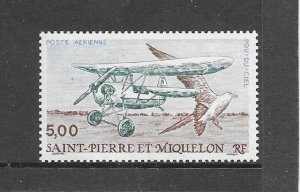 ST PIERRE & MIQUELON #C66  FLYING FLEA  MNH