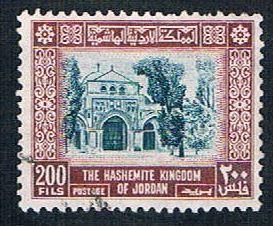 Jordan 316 Used Al Aqsa Mosque (BP607)