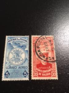 Panama sc C40,C42 MNH+U