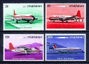 Malawi - Scott #182-185 - MNH - SCV $3.00