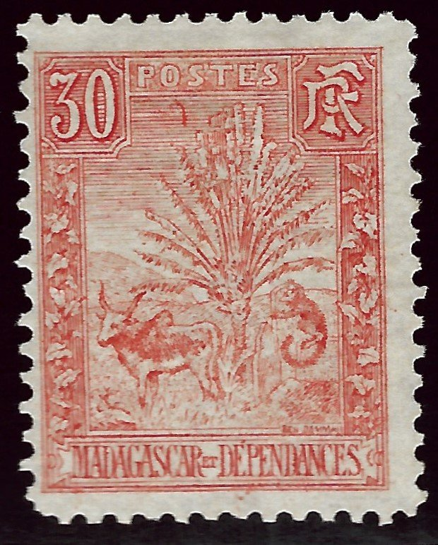 Malagasy/Madagascar Sc #71 F-VF Mint SCV$37.50 ..Buy before prices go up again!