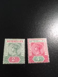 Seychelles sc 1,4 MH wmk 2