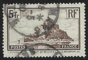 France #249 Used Die I (U13)