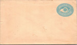 Guatamala 5¢ turquoise postal stationery unused 19th century