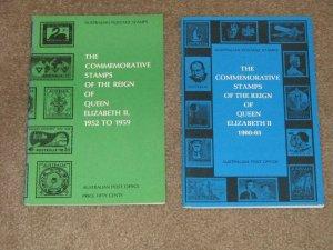 COMMEMORATIVE STAMP CAT. OF THE REIGN OF QUEEN ELIZABETH II 1952-59 & 1960-65