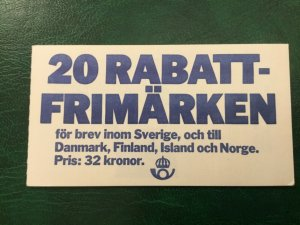 ICOLLECTZONE Sweden 1495a Booklet VF NH