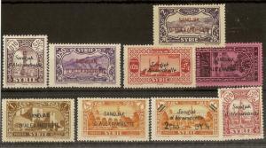 Alexandretta 1938 Selection (9v)