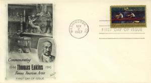 1967 Painter Thomas Eakins 'Biglin Racing' 1335 Fleetwood