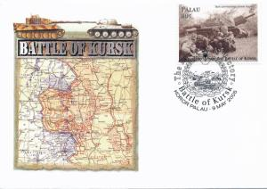 [96826] Palau 2005 World War II Battle of Kursk Special Cachet Cover