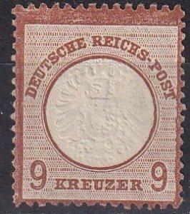 Germany #25   Unused CV $400.00 (Z5122)