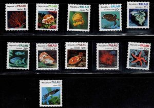 Republic of Palau  Scott 9-19 MNH** short set