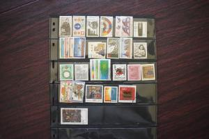 GERMANY COLLECTION 1979 YEAR SET  USED  CAT VALUE OVER 17.00