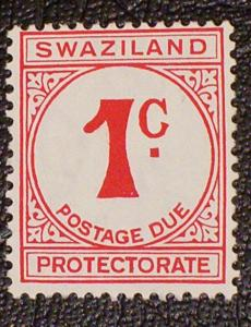 Swaziland Scott #J7 mnh