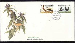 Audubon's Birds of the World #81a-Antigua & Barbuda-Connecticut Warbler-Least Pe