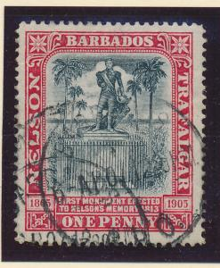 Barbados Stamp Scott #104, Used - Free U.S. Shipping, Free Worldwide Shipping...