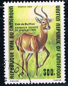 Cameroun 679 Used Buffon de Kob 1980 (C0256)+