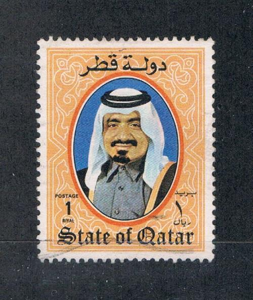 Qatar 654 Used Portrait  (Q0054)