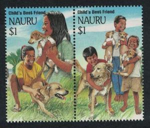 Nauru Chinese New Year 'Year of the Dog' 2v Pair SG#417-418