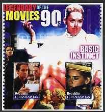Turkmenistan 2002 Legendary Movies of the '90's - Basic I...