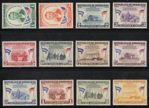 Honduras Scott #C289-C300 MH Note
