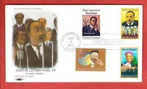 #1771 Martin Luther King  COMBO - Softones Cachet