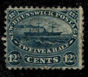New Brunswick #10 SG 18 U F/VF 12 1/2 c Cents Issue [N4480] CV=$75.00