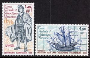 French Southern and Antarctic Territory 87-88 MNH VF