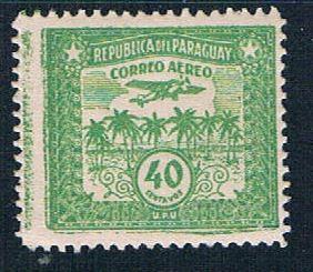 Paraguay C68 MNH Palm Trees 1931 (P0300)+