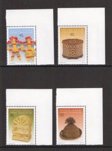 Portugal Madeira   #182-185  MNH  1995  traditional arts and crafts