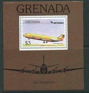 GRENADA SGMS824 1976 AIRCARFT MNH