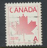 Canada SG 1030  used perf 13 x 13½