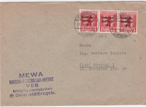 Germany Soviet Zone 1948 Beiefeld to Freital  stamps cover  R20730