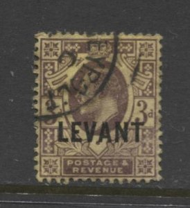 STAMP STATION PERTH British Levant #20 KEVII Definitive Used