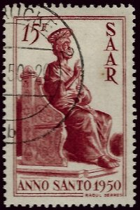 French SAAR Attractive SC#223 Used VF hr....Grab a Bargain!
