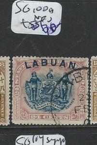 LABUAN  (P2201B) 24C ARMS LION SG 100A  VFU