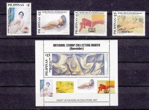 Z3850, 2000 philippines set mnh #2693-7 art