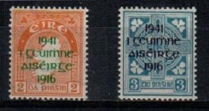 Ireland Scott 118-19 Mint hinged (Catalog Value $65.00)