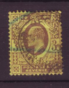 J19691 Jlstamps 1902-11 great britain used #132 king