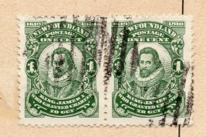 Newfoundland 1898-1901 Early Issue Fine Used 1c. NW-11948