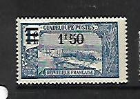 GUADELOUPE, 92, MINT HINGED, GRAND-TERRE