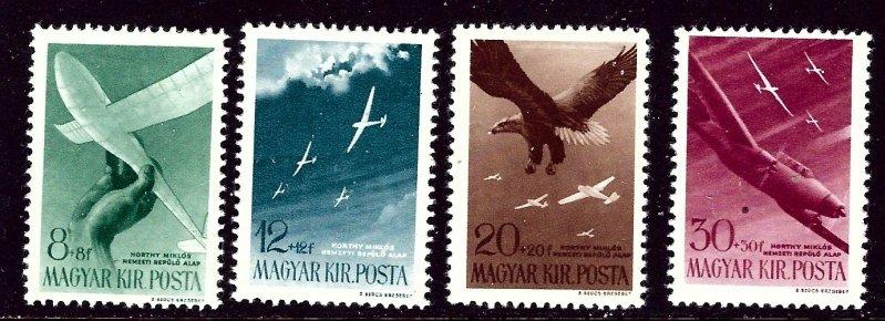 Hungary B166-69 MLH 1943 set    (ap4258)