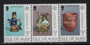 ISLE OF MAN, 88A, MNH, 1976, EUROPA (MANX CERAMIC ART)