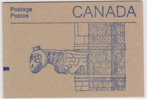 Canada #BK92a - Counter Cover Booklet